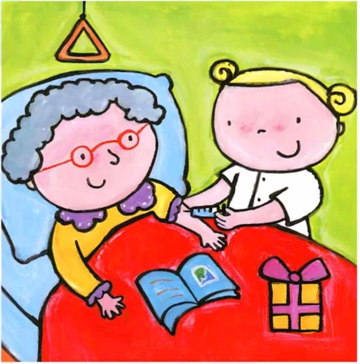 绘本欣赏 |《护士》