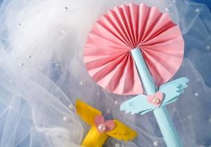 六一创意手工丨超酷的魔法仙女棒