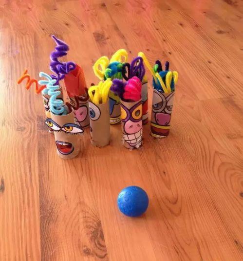 手工 | 一起来做小人保龄球,体验爱意浓浓的亲子时光