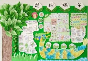 主题环创 | 端午节创意环创,隔壁幼儿园已经安排上了!
