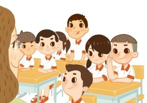 模拟小学真实环境,幼儿提早熟悉不慌张