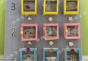 小班自制益智玩教具 | 小動物住房子